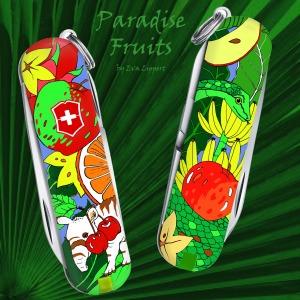 Paradise fruits_ Wettbewerbsbeitrag Victorinox